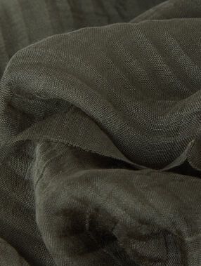 Schal khaki.
