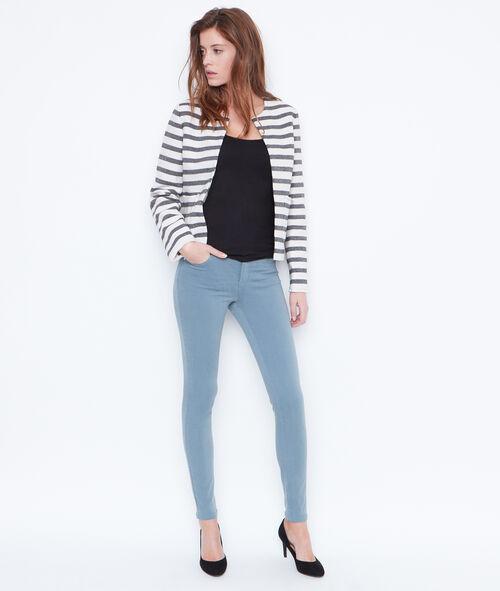 Veste courte à rayures