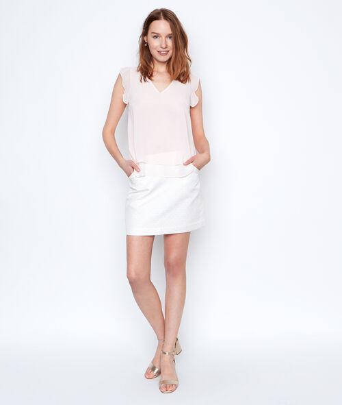 Jacquard skirt