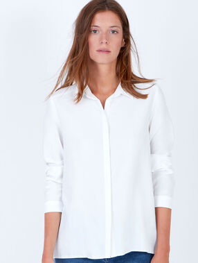 Long sleeve shirt white.
