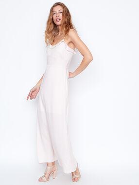Long dress nude.
