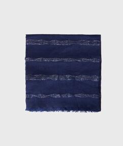 Schal marineblau.