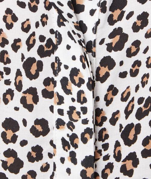 Lose shirt leopard print
