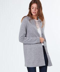 Long jacket grey.