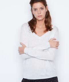 Jersey de algodón cachemira c.gris.