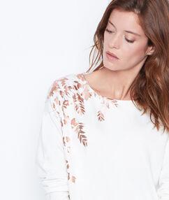 Sweatshirt off white.