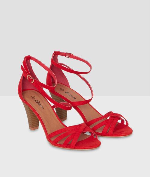 Sandales à talons multi-bride