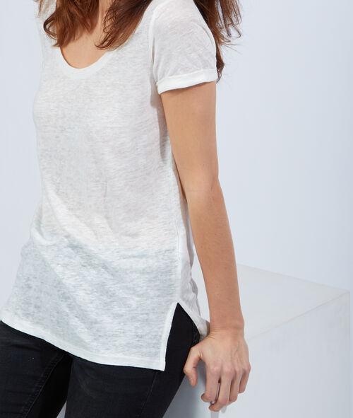 Linen T-shirt