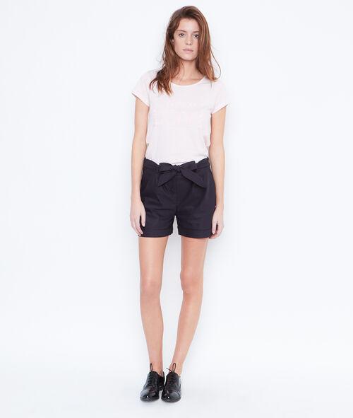 Sequins short sleeve