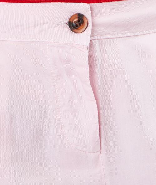 Pantalon carotte uni