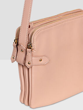 Small size bag blush.