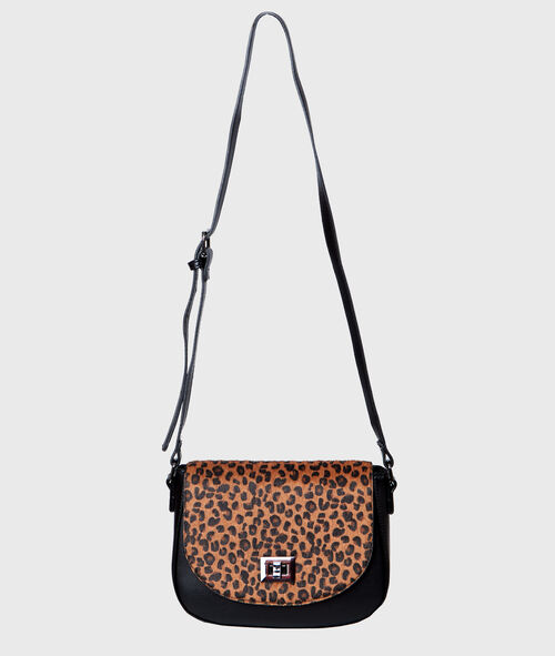 Leopard printed bag