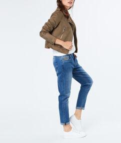 Jeans denim.