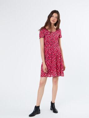 Kleid fushia.