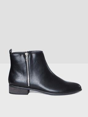 Schue schwarz.