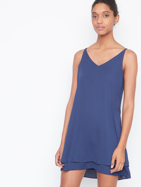 Kleid marineblau.