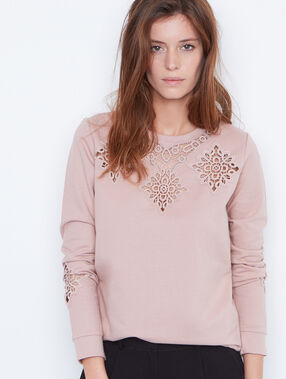 Sweat guipure rose.