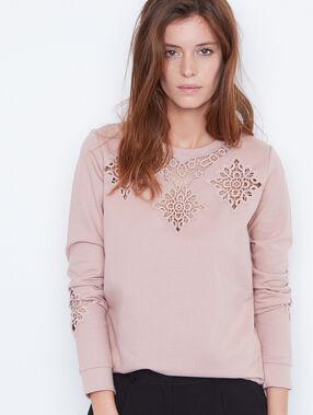 Sweatshirt pink.