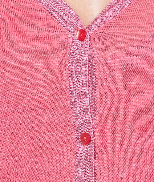 Linen cardigan