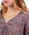 Robe blouse imprimée
