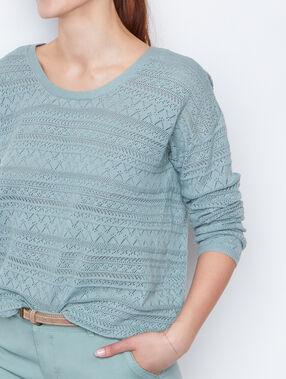 Sweater green.