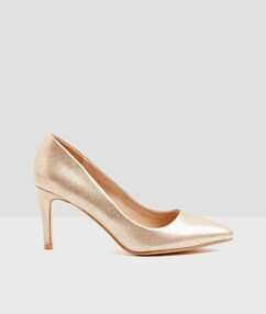 Pumps gold.