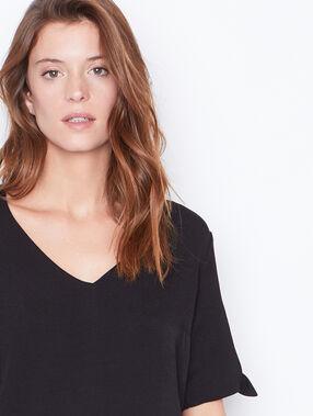 T-shirt bedrucken schwarz.