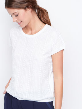Short sleeve t-shirt weiß.