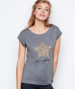 T-shirt khaki.