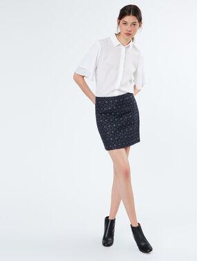 Short skirt navy.