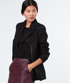 3/4 coat black.