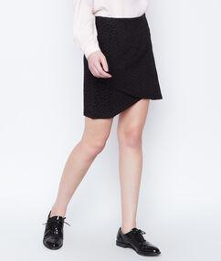 Tube skirt black.