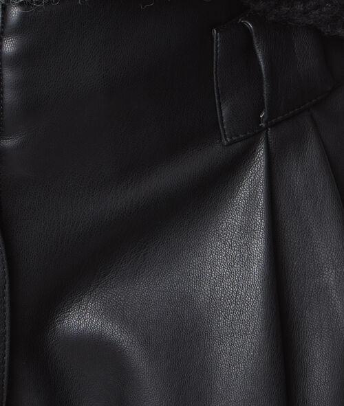 Short effet cuir