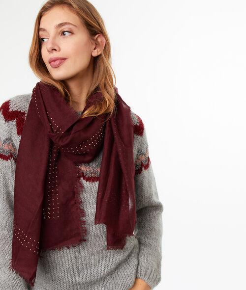 Studded scarf