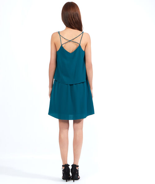 Layered cami dress