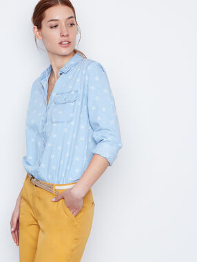 Jean shirt denim.