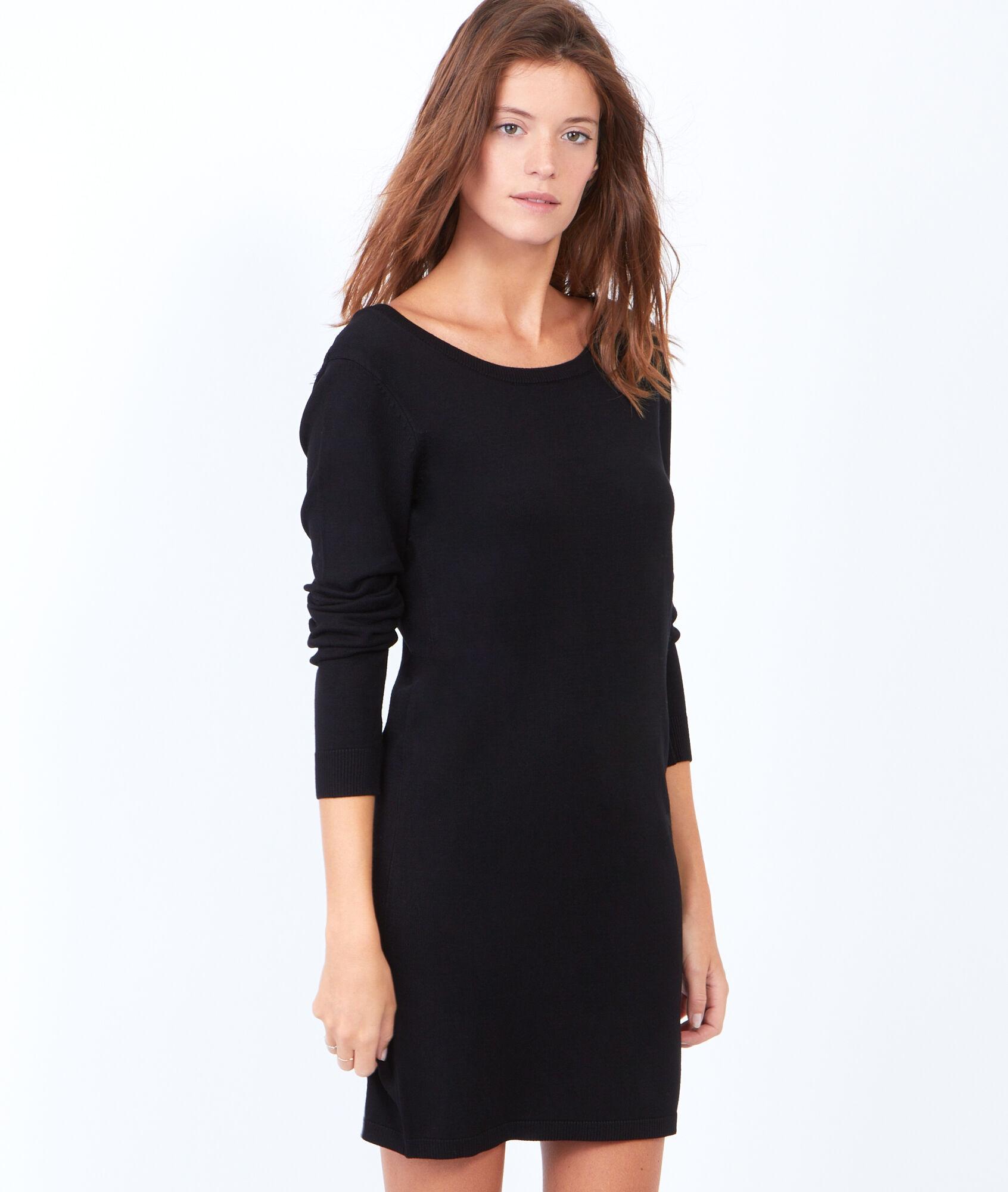 miss pull robe pull avec d tail en dentelle au dos etam. Black Bedroom Furniture Sets. Home Design Ideas
