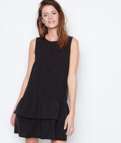 Sleeveless dress black.