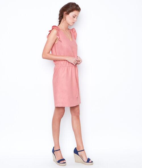 Sleeveless flared dress