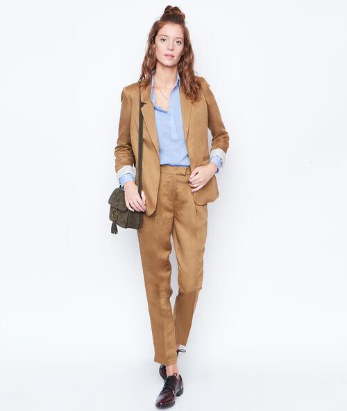 Linen suit jacket
