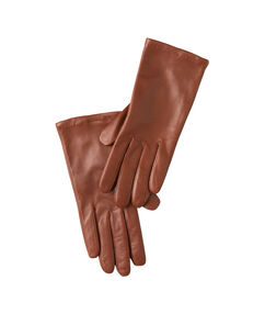 Leather gloves brown.