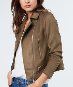 Perfecto jacket khaki.