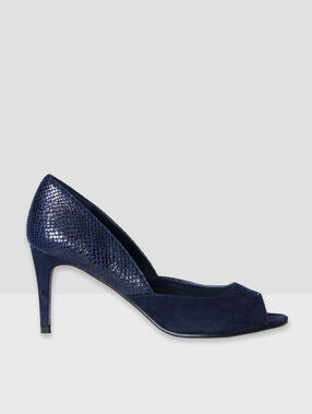 Schuhe blau.