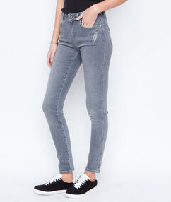 Jeans grau.