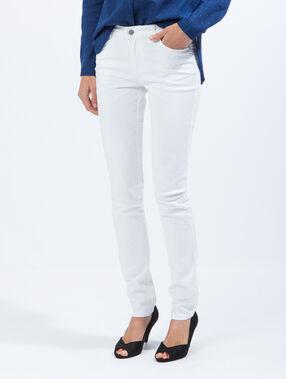 Slim jeans weiß.