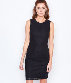 Sleeveless dress black.