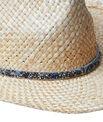 Chapeau de paille, détail brillant