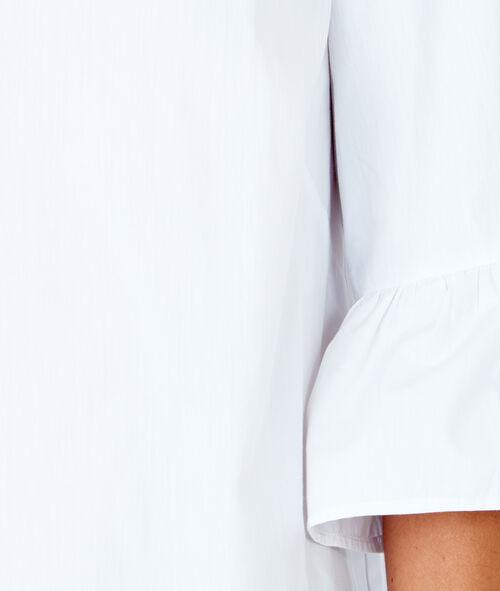 3/4 ruffle sleeve top