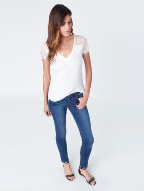 Slim jeans used.