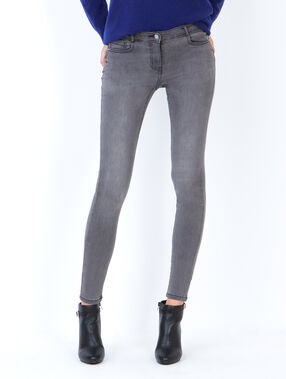 Skinny jeans anthracite grey.